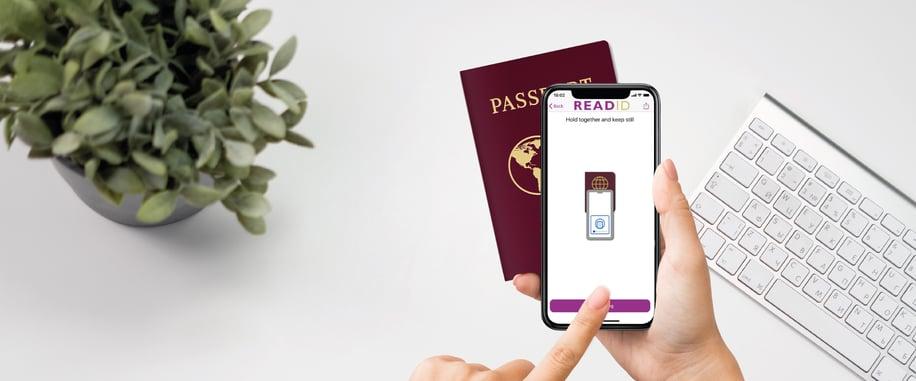 readid nfc-based identity verification